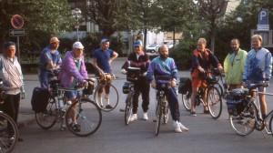 1992, Start am Rathaus